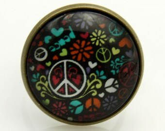 Peace and love ring, (2020B)