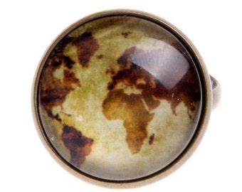World map Ring, 2020B