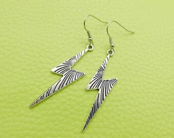 Foudre/lightning Earrings stainless steel