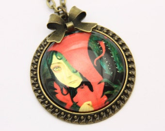 Little Red Riding Hood Necklace, 2525C