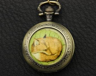 Fox Necklace, Fox Pocket watch