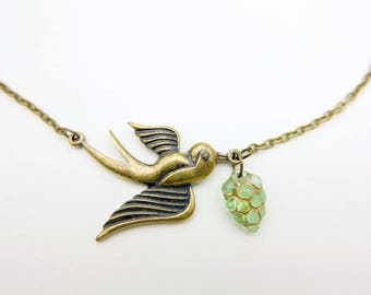 Swallow Necklace Hand Jewelry