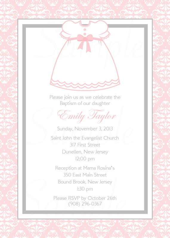 personalized baby girl baptism christening first communion etsy