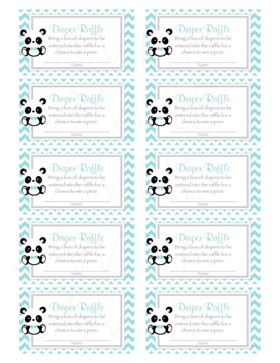It is an image of Free Printable Baby Shower Diaper Raffle Tickets within cutout