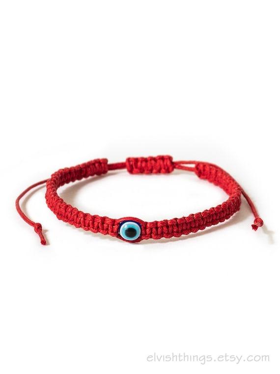 Protection Bracelet Waxed Bracelet Eil eye Bracelet Macrame Bracelet Friendship Bracelet