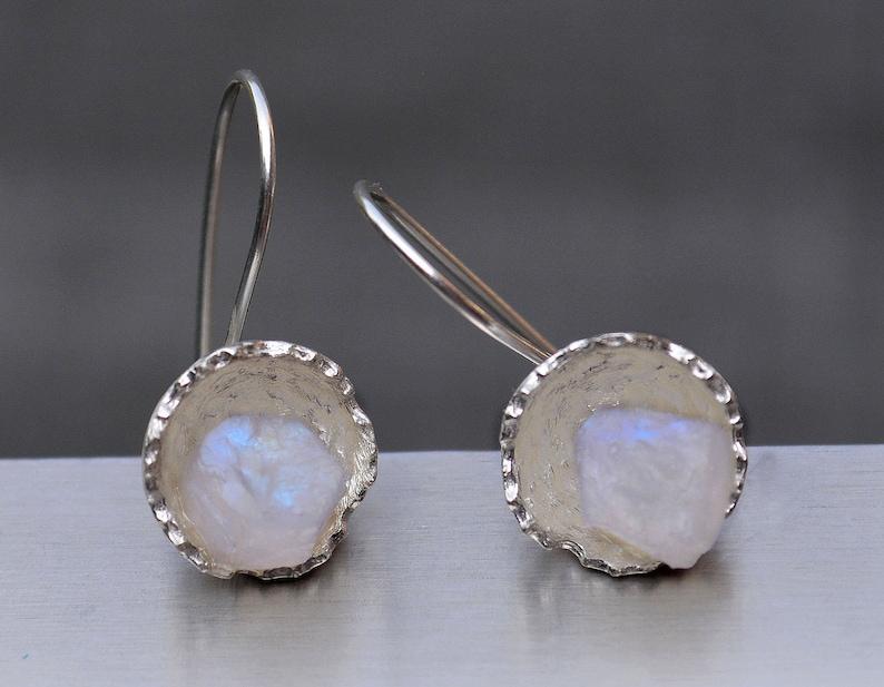 DV Jewels Rainbow Moonstone Earrings