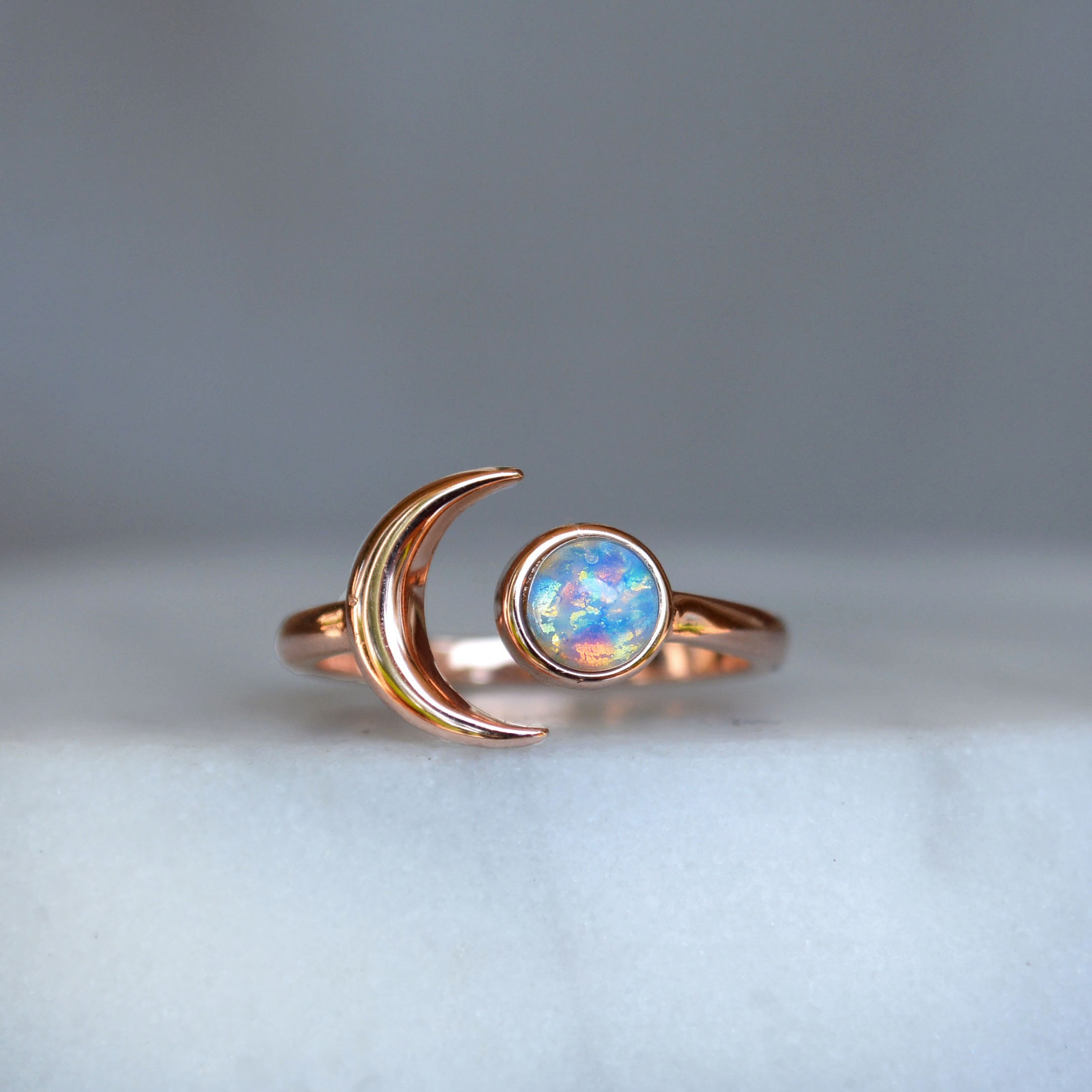 Natural multi fire Opal Stacking Ring Stacking Opal Ring Silver Opal Tiny Ring 09 Textured Rings Whisper Gemstone Rings Gift Slim Ring