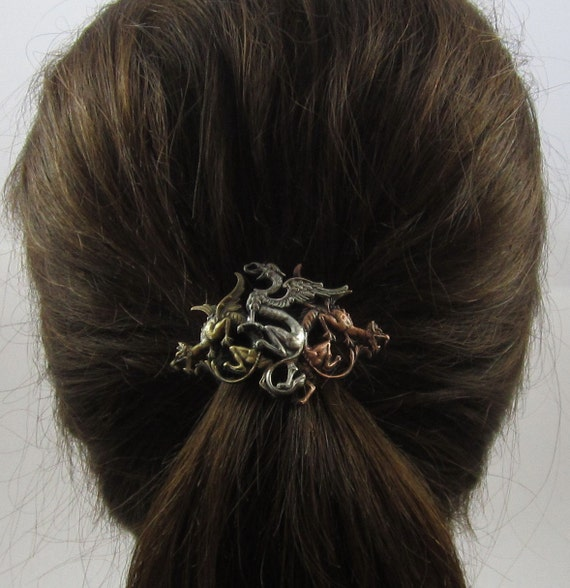 Dragon Ponytail Holder Dragons Hair Accessories Ties and Elastics  d52446392f9