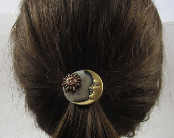 Celestial Ponytail Holder-Celestial-Sun Moon Stars- Ponytail Holder- Hair Accessories