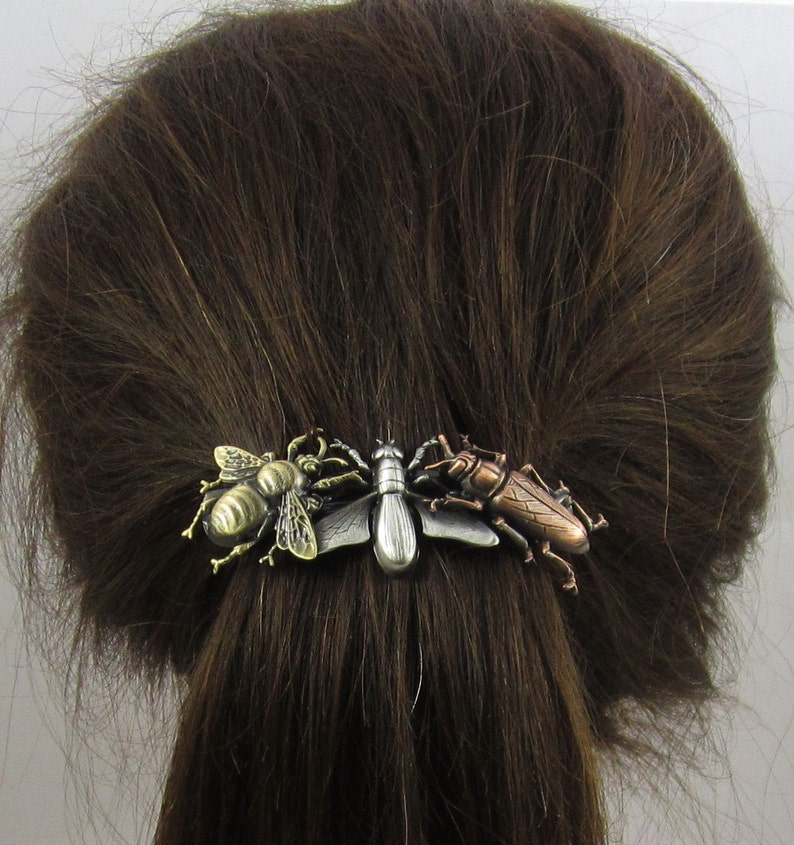 Hair Ties & Styling Accs Beetle French Barrette Hair Clip