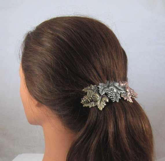 Grapevine Big Hair 100mm French Barrette Thick Hair Clip Etsy