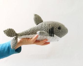 Shark, Great White Shark, Crochet Shark, Crochet Toy, Kids Toy, Handmade Shark, Shark Toy, Sharks, Stuffed Shark, Shark Stuffed Animal