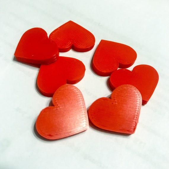 Heart  Health Token 3D Printed Upgrade Board Game Accesory