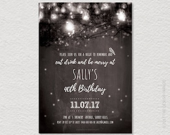 template chalkboard invitation cheers beers 21st etsy