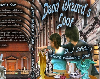 Fantasy Novel: Dead Wizard's Loot by DJ Salisbury Paperback Book