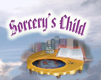 Fantasy Novel: Sorcery's Child by DJ Salisbury. Paperback book, Second in the Series