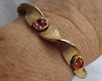 MARCEL BOUCHER Bracelet and partial Necklace 1950'S signed #6444 Jd2-146