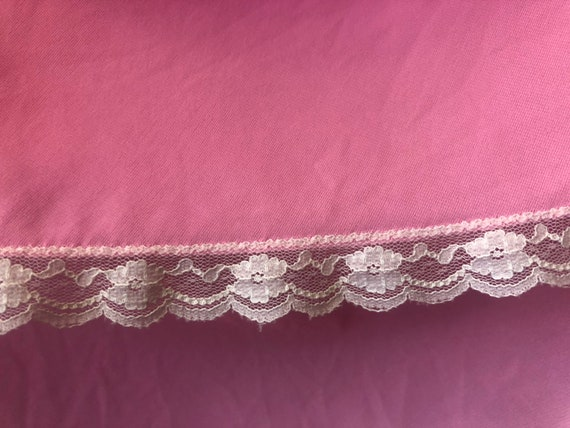 Vintage 1970s LUCIE ANN Nightgown Bubble Gum Pink… - image 6