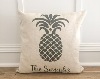 Custom Pineapple Pillow Cover