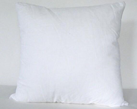 40 X 40 Pillow Insert Etsy New 16 By 16 Pillow Insert
