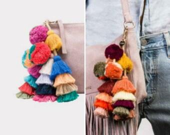 63639e45574 Tassel Pompoms for handbags
