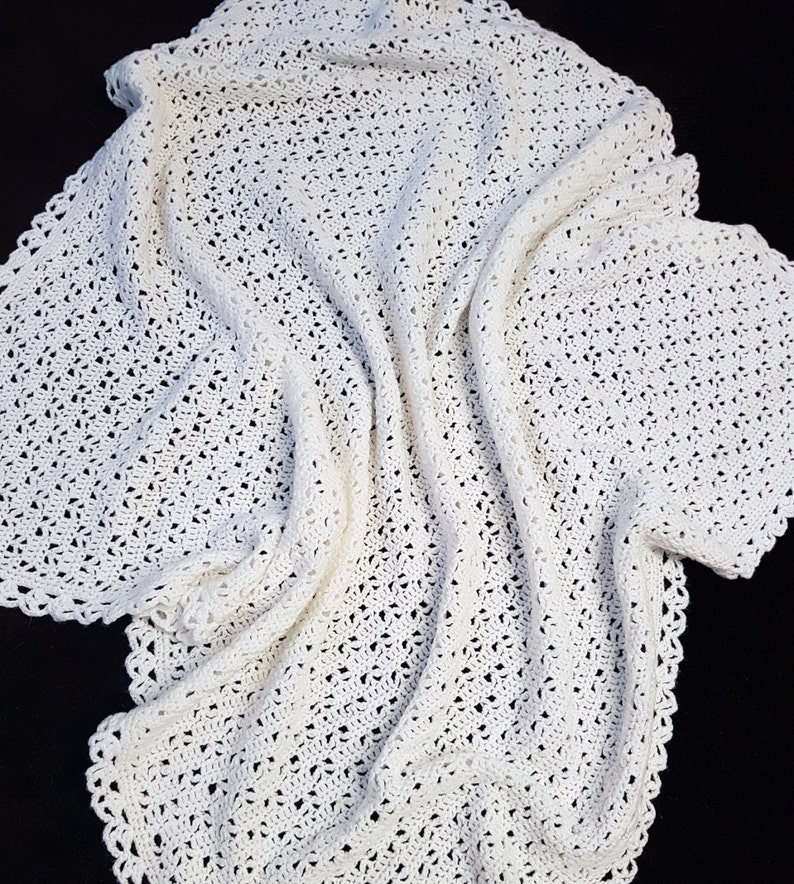 c7f75d25d60f Crochet Blanket Pattern Crochet Baby Blanket Pattern Easy