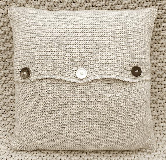 CROCHET Cushion Pattern Cushion Cover Pattern Foxie