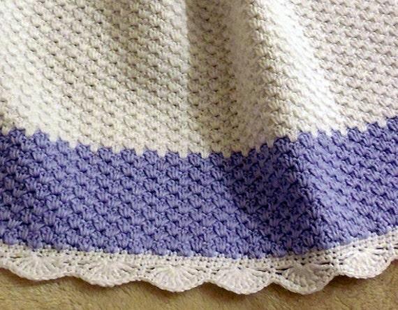 Crochet Pattern Baby Blanket Afghan Winter Frost Fast Etsy