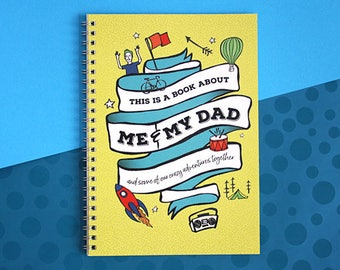 About Dad Book Memory And Son Daughter Fathers Day Gift Birthday For Gifts From The Kids