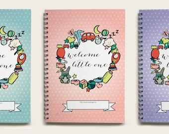 Baby Book - Baby Journal - Baby's First Year - Baby Shower Gift - Baby Record Book - Baby Diary - Baby Girl Book - Baby Memories - Baby Gift
