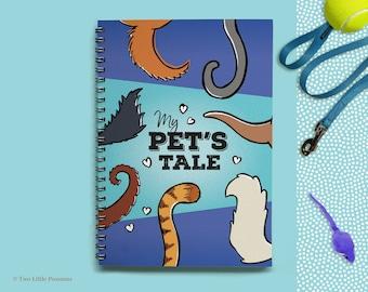 Pet Book, Pet Memory Book, Pet Memorial, Pet Gift, Dog Book, Dog Memorial, Cat Book, Cat Memorial, Dog Memories, Cat Memories, My Pet's Tale