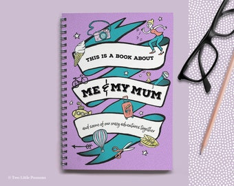 Mother Gift, About Mum Book, Mothers Day Gift, Mum Keepsake, Memory Book, Mum and Son Daughter, Mum Gift, Gifts for Mum, Gifts From Kids, Mu