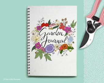 Garden journal / Gardeners gift / Gardening diary / Gardener / Garden planner / Gift for gardeners
