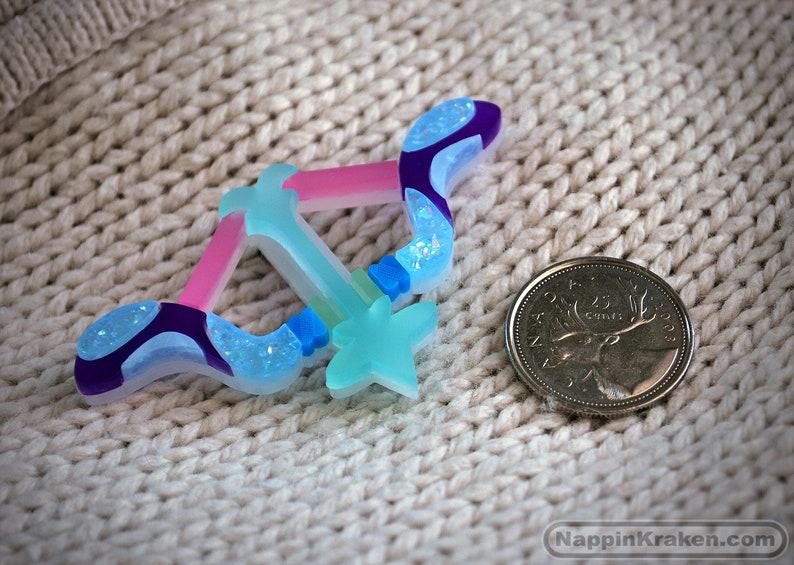 Acrylic PinBrooch Opal/'s Bow Steven Universe