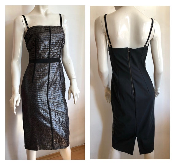 Vintage Dolce and Gabbana dress, party dress, cock