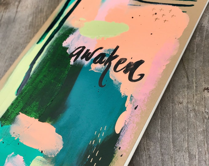 Abstact Lined Journal