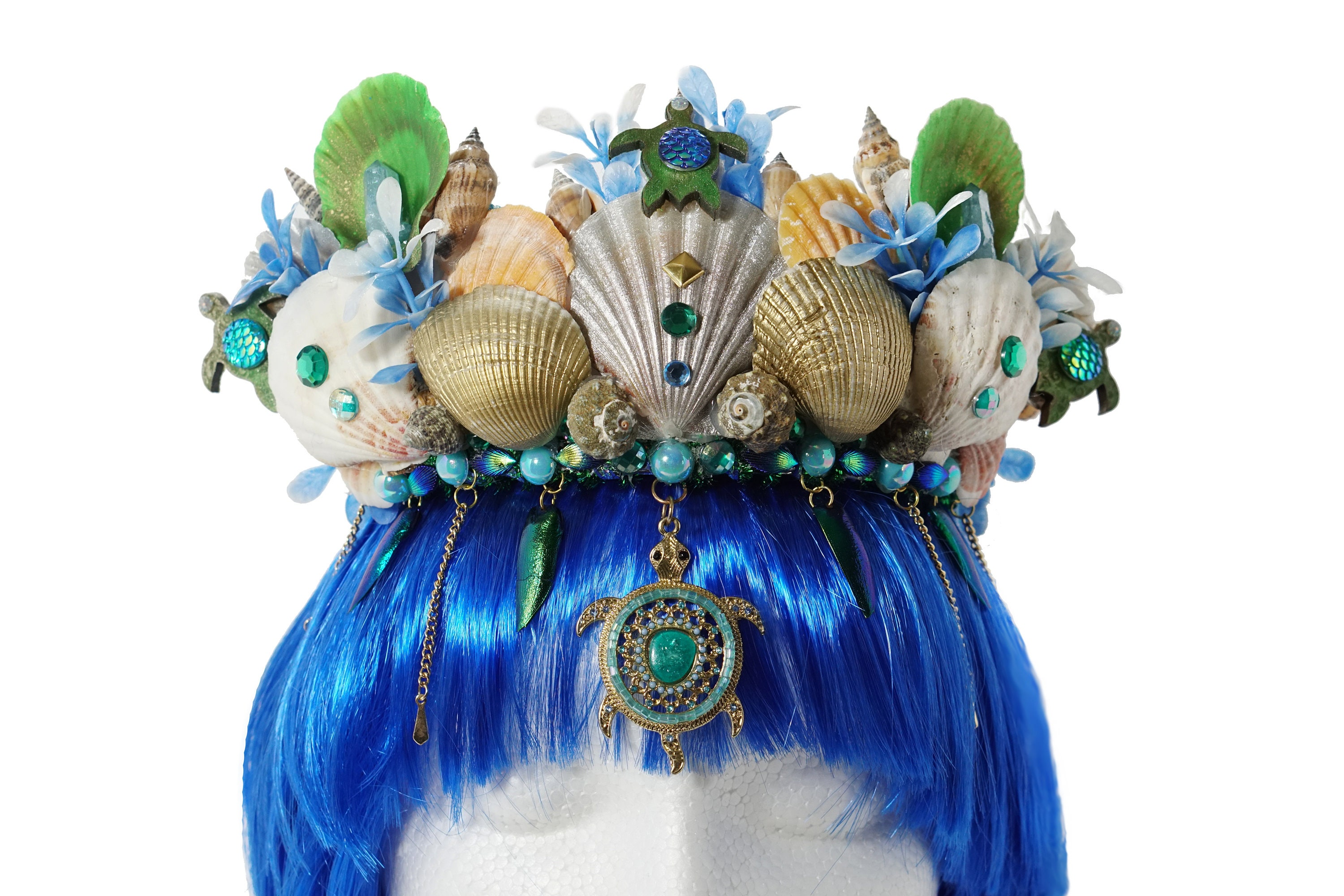 Sea-stars Shells Mermaid Headband Mermaid Costume Accessories