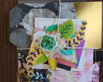 Journal kit - Cardmaking - Planner Kit - Junk Journal - Scrapbook Page - Embellishment - Bullet Journal