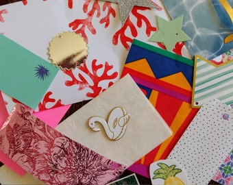 Journal kit - Cardmaking - Planner Kit - Junk Journal - Scrapbook Page - Embellishment - Flirty