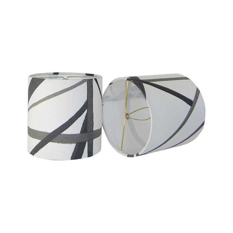 Sconce Shade Black And White Chandelier Custom