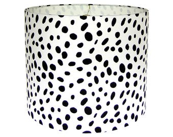 Black and White Lamp Shade, Animal Print Lampshade, Table Lampshade, Lamp Shade for Floor Lamp Shade for Buffet Lamp, Multiple Sizes