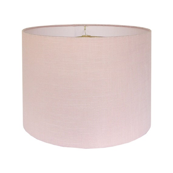 Blush Pink Lamp Shade Custom Lamp Shade Pink Lampshade Etsy