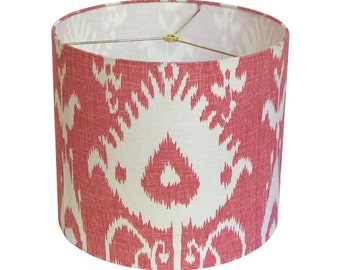 Lamp Shade Lampshade Portfolio Textiles Bristow Cranberry Made to Order