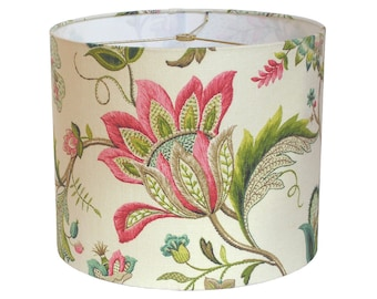 Patterned lampshade etsy aloadofball Choice Image