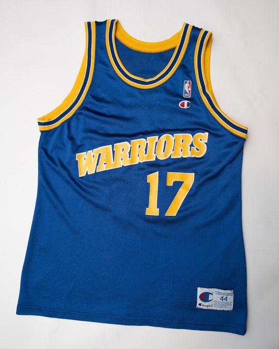 381ee4426b8 Vintage 90 s Golden State Warriors Chris Mullin Champion