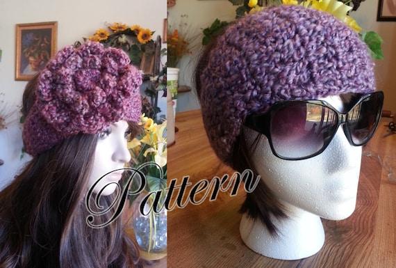 PDF Pattern Crochet End To End Headband Earwarmer Headwrap Etsy Adorable Free Crochet Ear Warmer Pattern With Button Closure