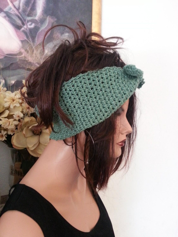 I Love Lucy Headband Tie Headwrap Earwarmer PDF Pattern Crochet from ...