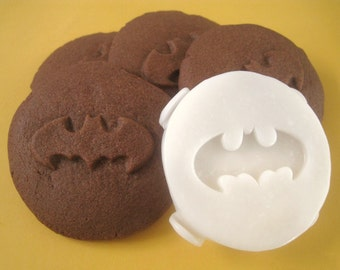 BATMAN Inspired COOKIE STAMP Recipe And Instructions