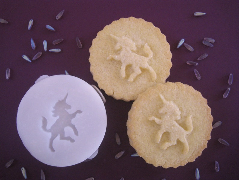 UNICORN COOKIE STAMP Recipe And Instructions Make Your Own