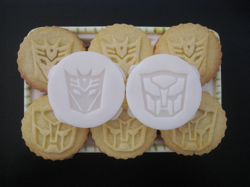 TRANSFORMERS Inspired COOKIE STAMP Recipe And Instructions